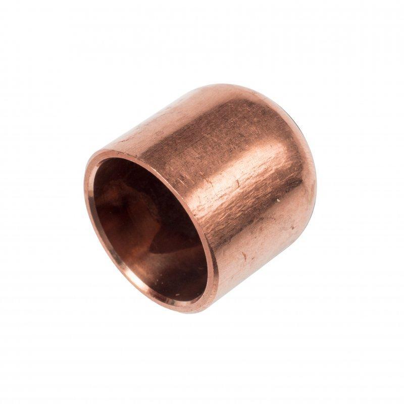 RefHP Kappe - Hochdruck-Lötfittings, Kupfer-Eisen, Kappe