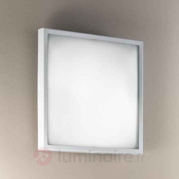 Plafonnier ou applique en verre OSAKA - Appliques chromées/nickel/inox