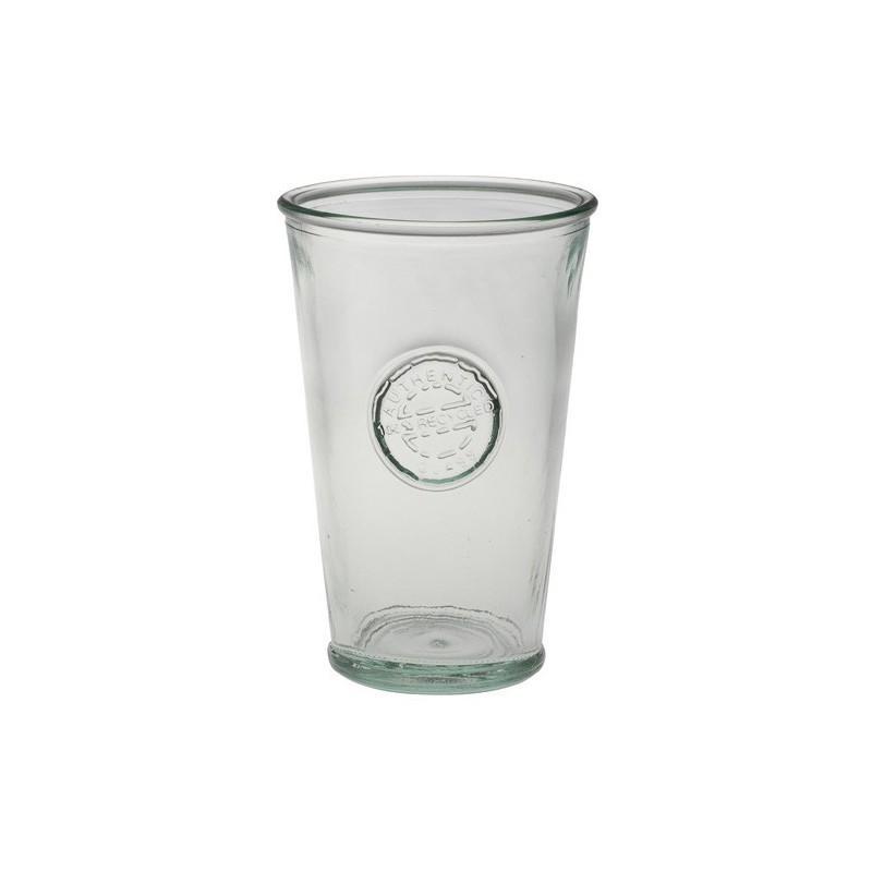 3 bicchieri in vetro 100% recycled - Vasellame