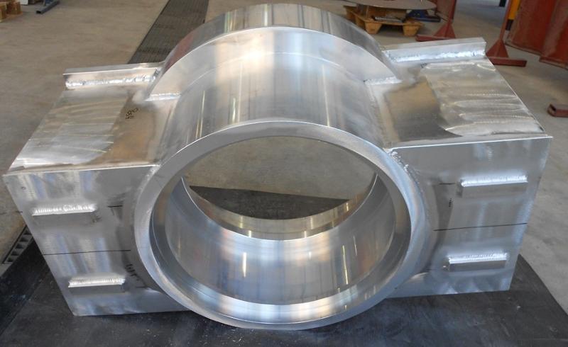 Schweissen, Schweisskonstruktion aus Aluminium