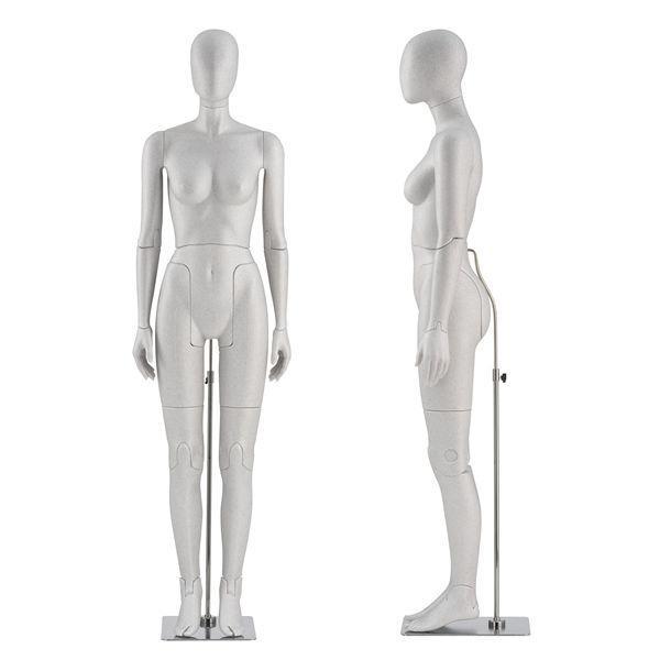Mannequin de vitrine femme flexible - Mannequin vitrine flexible