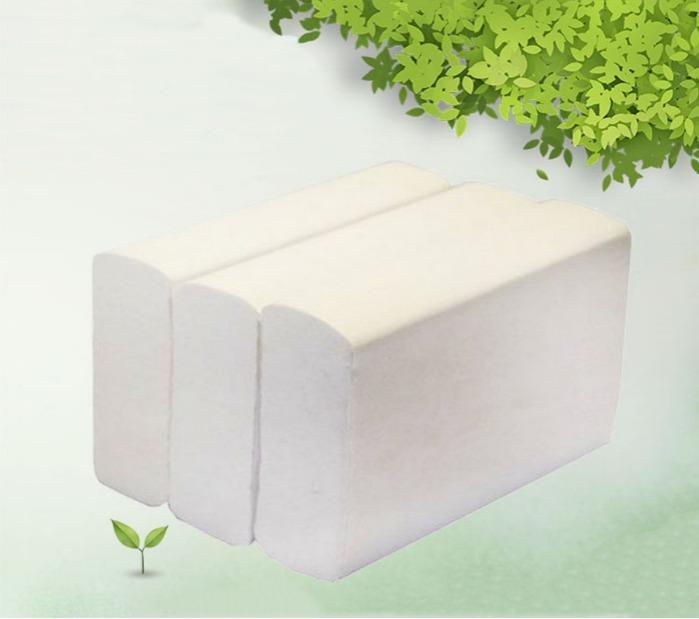 Полотенце бумажное - Полотенце бумажное листовое V-сложение