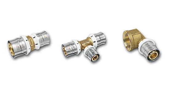 3fit®-Press Системные пресс-фитинги (CuSi) - системным пресс-фитингам, не содержащим свинец,выполненным из кремнистой бронзы