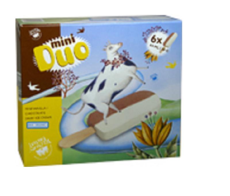 Glaces individuelles lait de vache BIO -