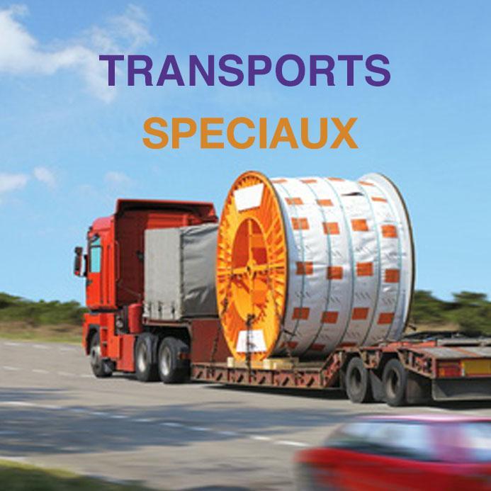 Transports spéciaux - Transport volumineux ou spécifiques