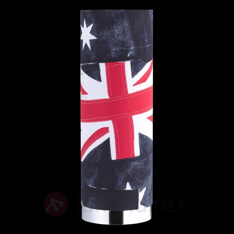 Lampe à poser impressionnante Banner - Lampes à poser en tissu