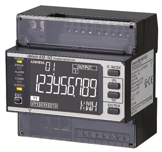 KM2 multi-circuit compact power monitor