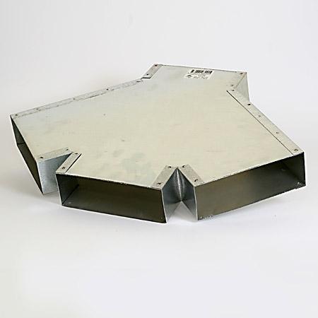 Flat ventilation ducts - ventilation ducts