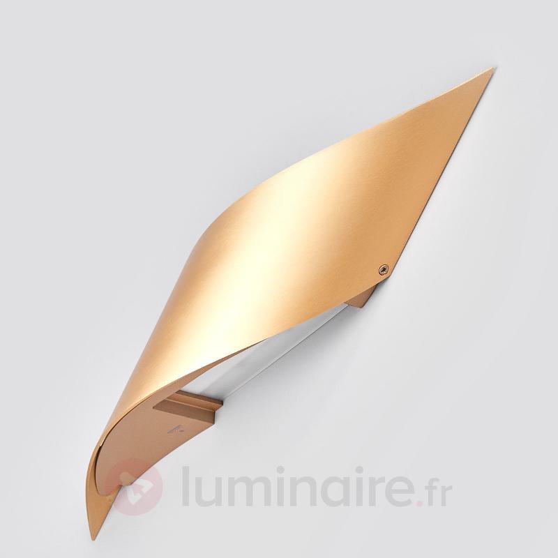 Applique LED Rizz 34,5 cm, couleur laiton - Appliques LED
