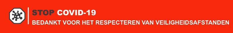 STICKERS RESPECT DISTANCES DE SÉCURITÉ - null