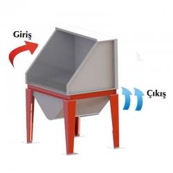 Grinding Table - Industrial Ventilation Devices