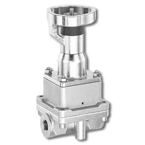 Manually control valve GEMÜ 566 - The GEMÜ 566 has a body with an integrated control mechanism.