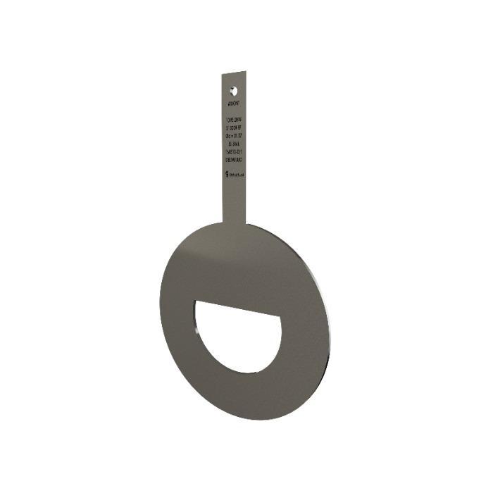 Plaque à orifice segmentaire - Fabricant de diaphragmes pour mesure de débit par pression différentielle