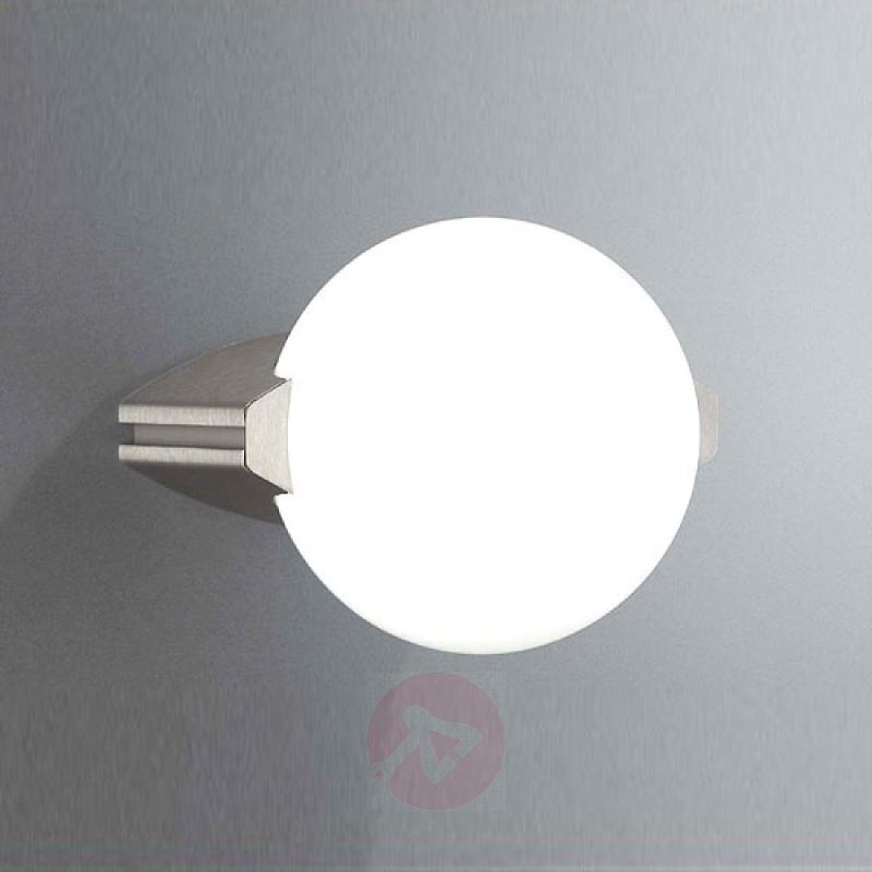 Halogen outdoor wall lamp MONTREAL - stainless-steel-outdoor-wall-lights