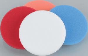 Zum Einsatz auf Stütztellern mit Klettsystem - Farbe: orange Härte: medium-hart Einsatzbereich: Aufpolieren