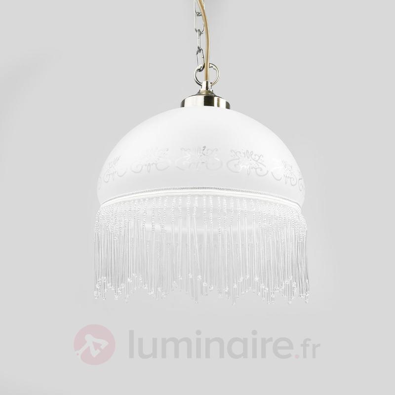 Suspension décorative VICTORIANA, 1 lampe - Suspensions en verre