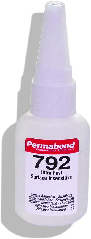 Permabond 792 | 20 g Kunststoff-Flasche mit Auftragsdüse - PB-792-20