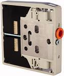 Intermediate plate for valve terminal HDM, separated exhaust - Intermediate plate for HDM valve terminal