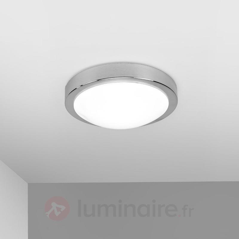 Aras - Plafonnier LED pour salle de bain, alu - Salle de bains