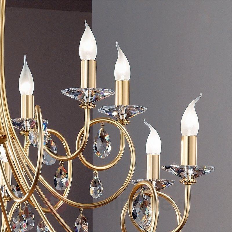 Lustre VIOLETTA à 12 ampoules, doré - Lustres classiques,antiques