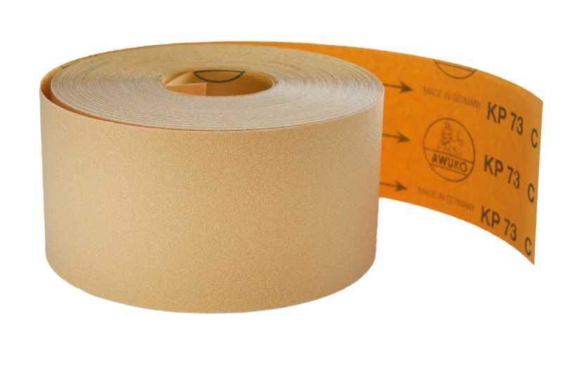 Schleifrollen für Holz / Fußboden, Lack / Farbe KP73C - Körnungen: P120, P180, P220, P240, P320, P400