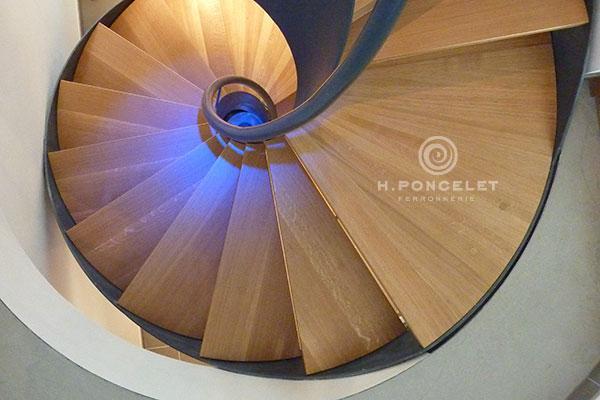 Escalier Colimaçon - Ferronnerie