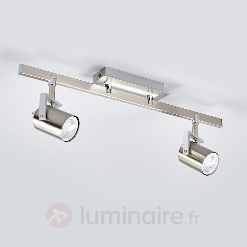 Spot LED deux lampes Morea - Spots et projecteurs LED