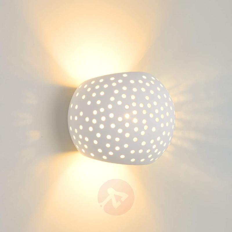 Impressive Gipsy plaster wall light - Wall Lights
