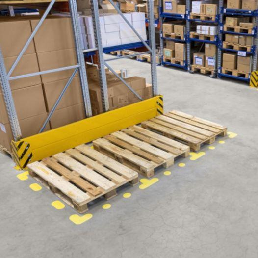 """Floor marking symbol """"L-shape"""", yellow - differend colours available"""