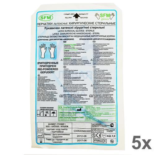 SFM Latex chirurgische OP-Handschuhe steril gepudert 7... - null