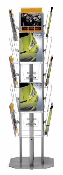 Brochure Sets - Structure Porte Brochures Multiside (20 pcs)