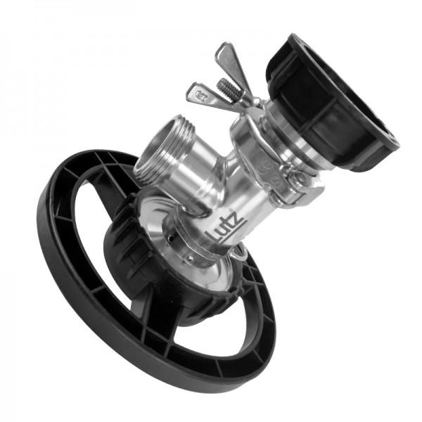 Pump tube horizontal container pump B200 in stainless steel - Container Pumps