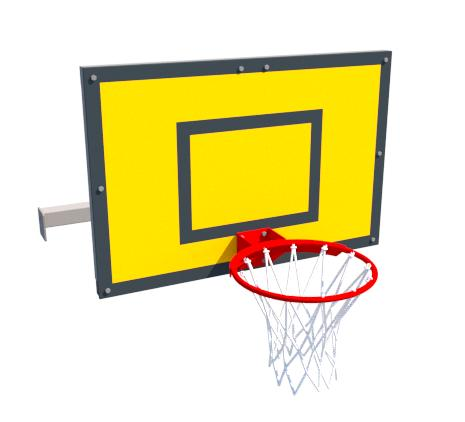 Basketball backboard - Additional equipment for Punto fit