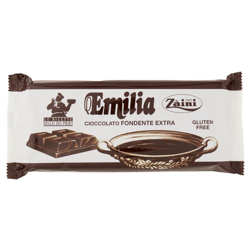 Zàini Emilia Cioccolato Fondente Extra 1000 g - Alimentare - Cioccolato e caramelle