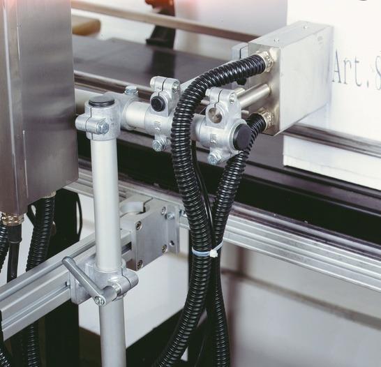 Alüminyum boru bağlantı parçaları/kelepçeli bağlantı parçala -