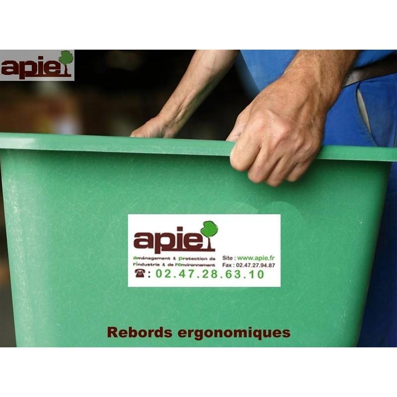 Bac de stockage en polyester Coloris Vert - Référence : BAC/1142V
