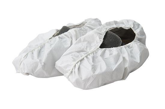 Couvre-chaussure recouvert de SF - Style: Couverture enduite de chaussure de SF Matériel: PP + SF Couleur: Blanc Po