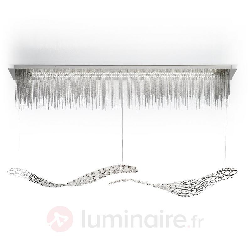 Attrayante suspension LED CHRYSALIS - Suspensions design