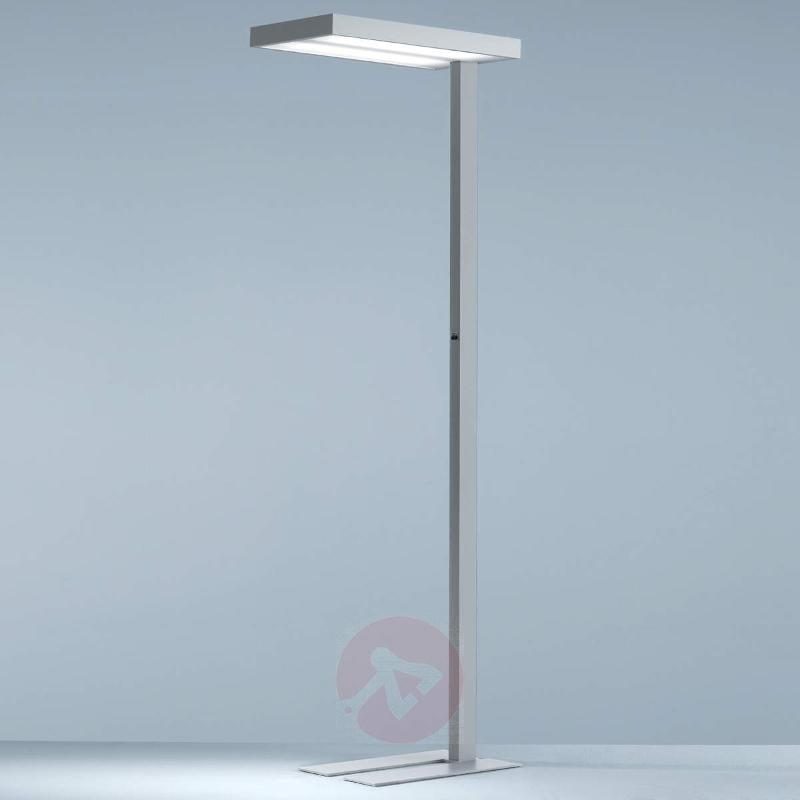 Factory office floor lamp, dual-switchable - Floor Lamps and Uplighters