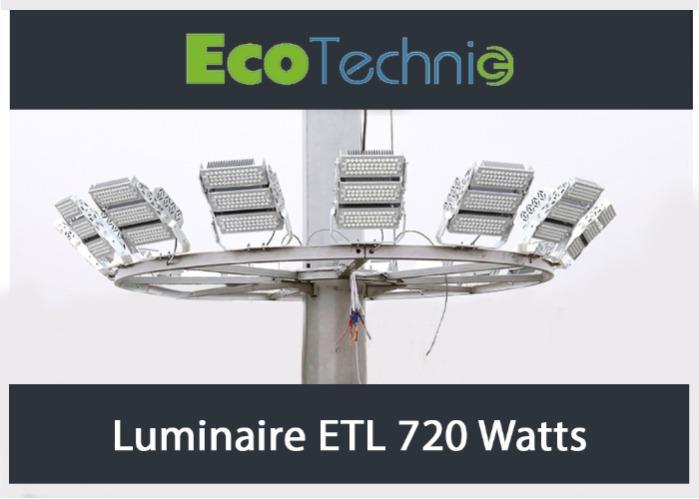 ETL-720 LED - Projecteur LED fabriqué en France