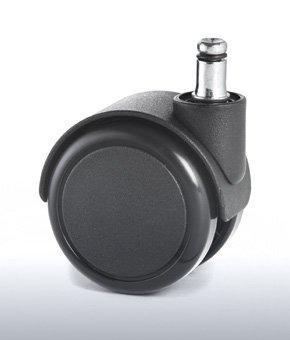 "Reinforced copolymer ""H"" type hard treads ADAPTO ® - CASTOR EMI Ø mm. 65 ""GEMIBASE"" + ""ADAPTO""®"