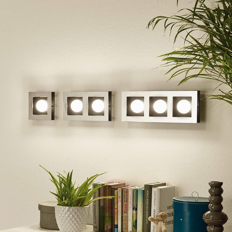 Three-bulb Bellamonte LED ceiling light