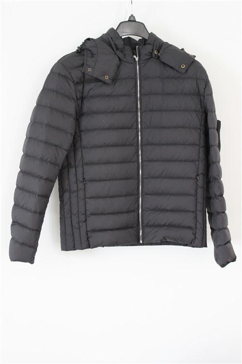Women's down jacket with zipper