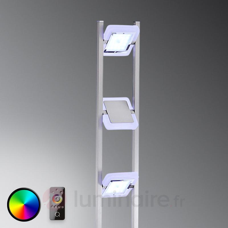 Lampadaire Vidal avec LED RVB et télécommande - null