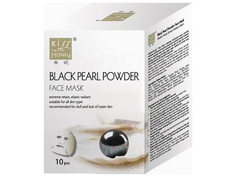 Face Mask 10S+1PC-Black Pearl Powder - null