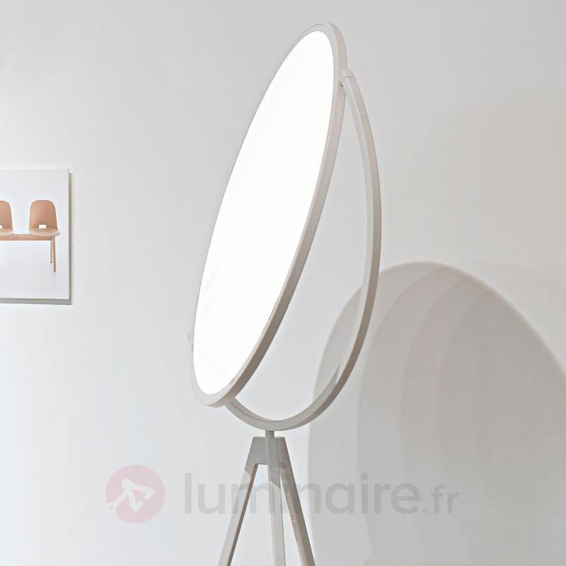 Lampadaire design Superloon à LED blanc - Lampadaires design