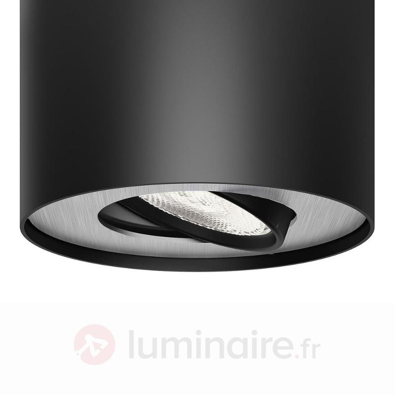 Spot LED downlight LED Phase, noir - Plafonniers LED