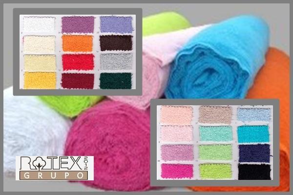 Rizo americano a metraje - Rizo de algodon 100% en varios colores