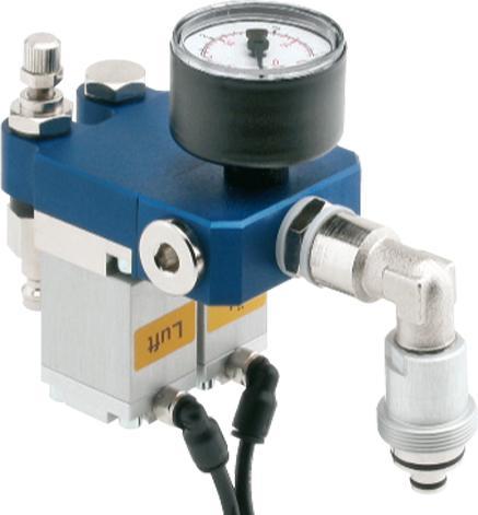 Flexibles microjet® Baukastensystem - Steuerverteiler pneumatisch