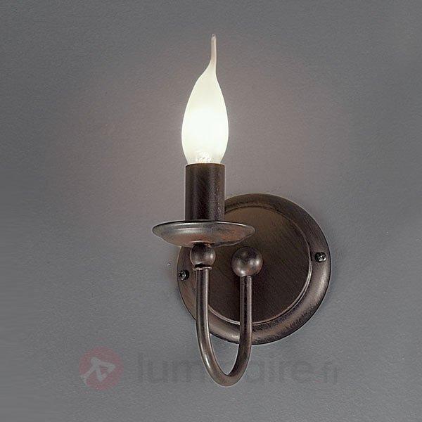 Petite applique AZIENDA à 1 lampe - Appliques rustiques